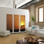 living-room-with-sunset-radiator-painting