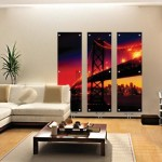 wooden-floor-with-glass-painting-radiator
