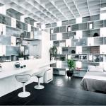 már-már futurisztikus megjelenésű konyhák